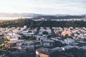 residential, aerial view, aerial